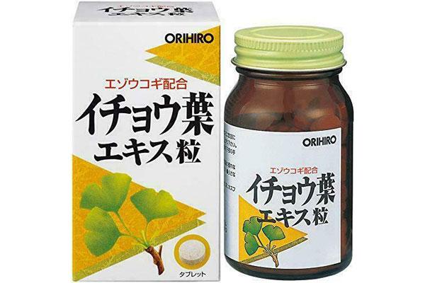 Viên thuốc tăng tuần hoàn não Orihiro Ginkgo Biloba
