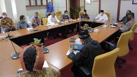 Walikota Evaluasi Pengetatan PPKM di Kota Solok