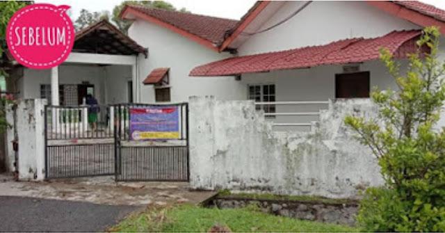 """Keadaan Asal Rumah """"Busuk"""" di Ayer Keroh Melaka yang dibeli pada harga RM190 ribu"""