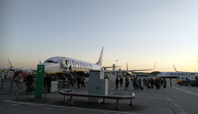 London 2017 - Ryanair in Stansted