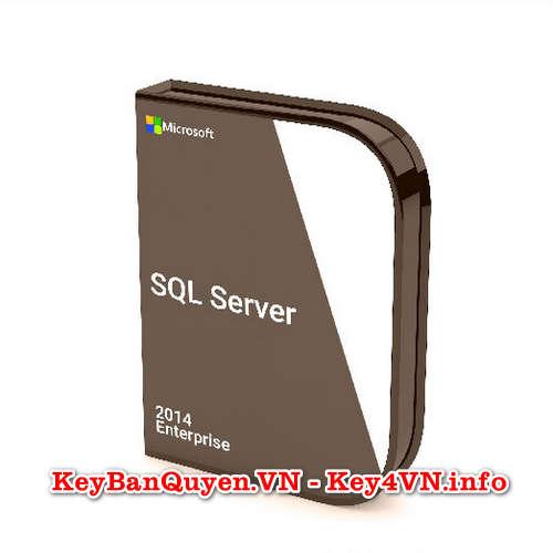 Mua bán key bản quyền SQL Server 2014 Enterprise 64 Bit.