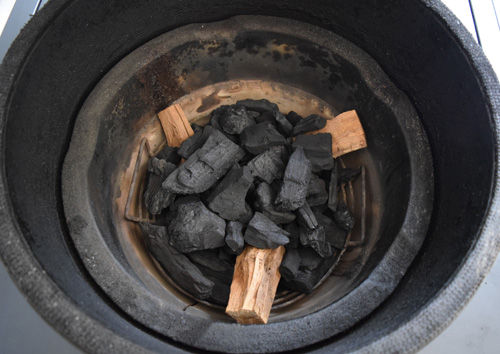 How to get more wood smoke in a kamado grill like the big green egg, kamado joe, or primo