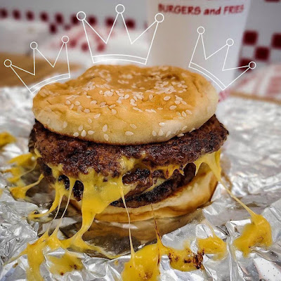 Hamburguesa de Five Guys en Nueva York
