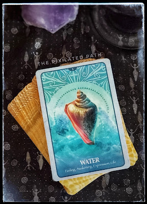 Water Card from The Secret Language of Animals Oracle