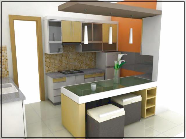Dapur Rumah Minimalis Ukuran 2 X 2 Dengan Kitchen Set Mini Info