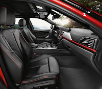2013 BMW 3-Series (F30) 335i Sedan Sport Line: Interior Details: Front Seats