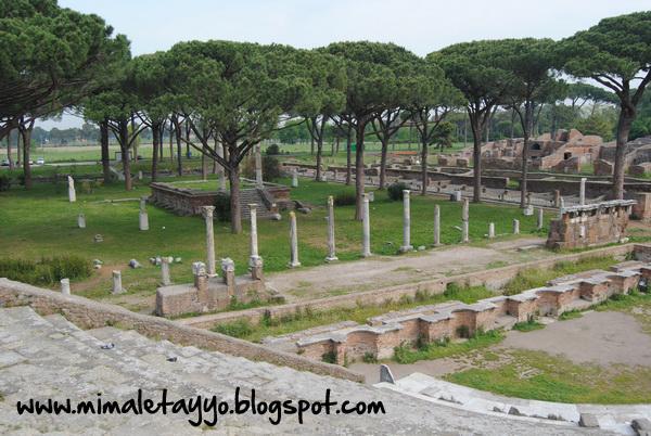 Templo a Ceres en Ostia Antica
