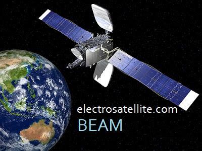 electrosatellite beam