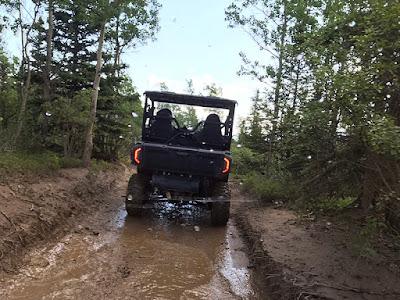 Lots of Mud on the ATV Bush Trails