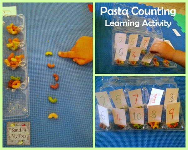 Pasta Counting - An Easy Learning Activity