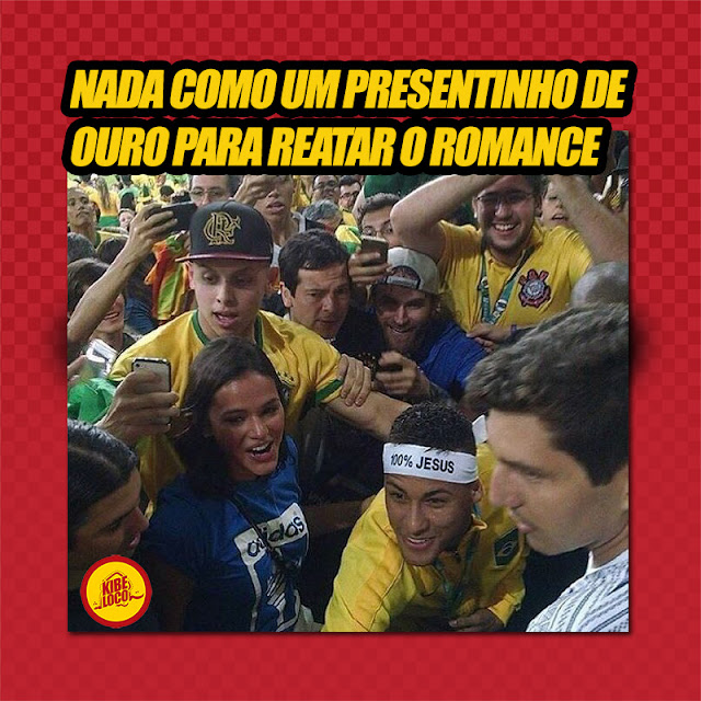 Neymar volta com Bruna Marquezine