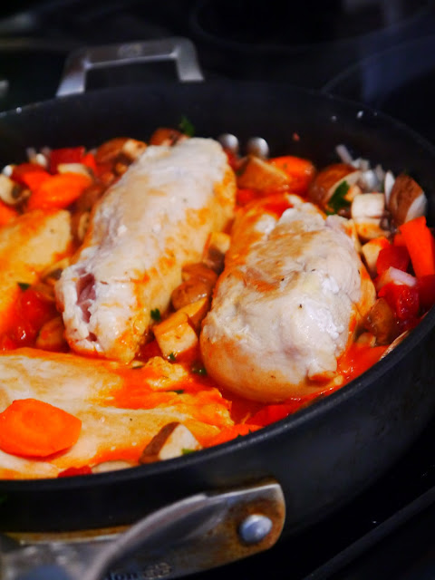 Add the Chicken breast