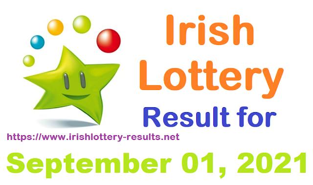 Irish lottery results for September 01, 2021