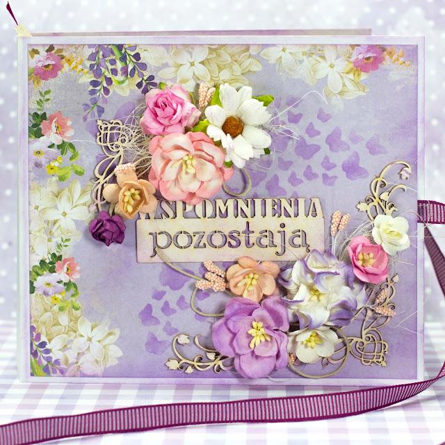 Wiosenny fioletowy album