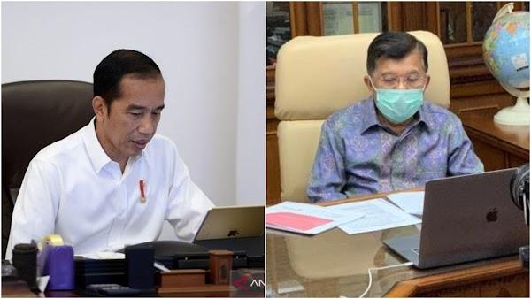 Jokowi Ajak Warga Berdamai dengan Covid-19, JK: Risikonya Mati!