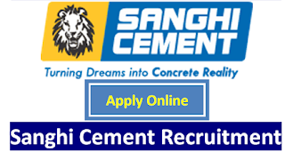 Sanghi Industries Limited Cement Manufacturing & Power Generation Company Jobs Recruitment For ITI and BSC Candidates On Technicians and Chemist