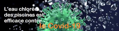 le chlore des piscines désactive le virus en 30 secondes