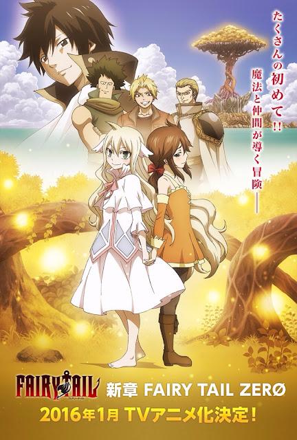 Zapowiedź anime Fairy Tail Zero
