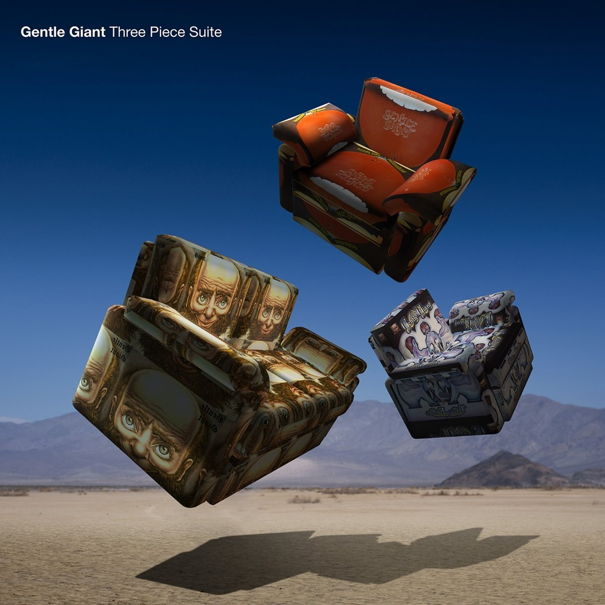 "Gentle Giant ""Three Piece Suite (Steven Wilson Mix)"" release date September  29th 2017 UK Prog Art Rock new album A compilation of the first three  albums ..."