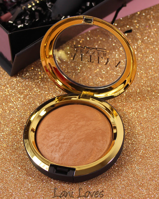 MAC Caitlyn Jenner - Compassion Mineralize Skinfinish Natural Swatches & Review
