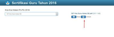 Kisi-Kisi Materi PLPG 2016 untuk TK, SD, SMP, SMA, SMK Semua Mapel