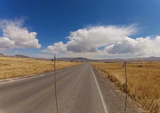 Bela paisagem no Peru.