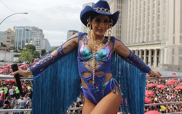 Body de Croche Carnaval Anitta