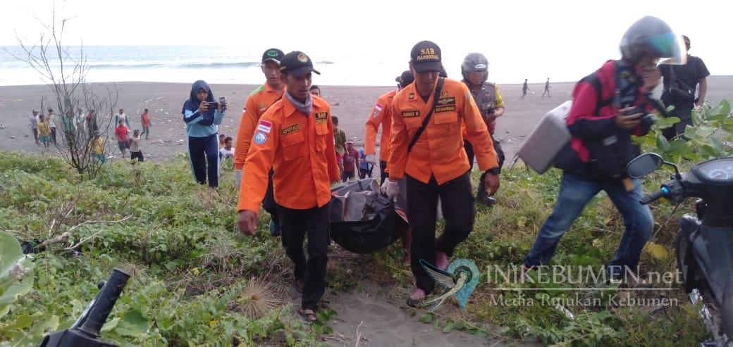 Korban Hanyut di Pantai Bocor Ditemukan 2 Kilometer dari TKP