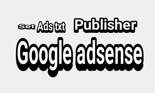 Cara mengaktifkan ads txt bagi publisher google adsense