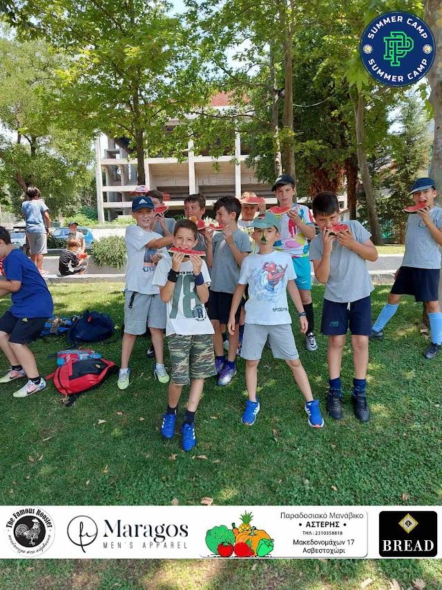 Φωτογραφίες από την πρώτη ημέρα του PP Summer Camp 2021