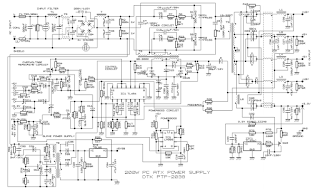 computer power supply circuit