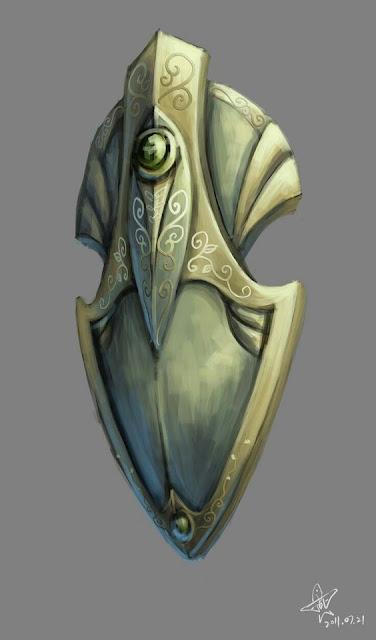 Objetos Mágicos de Maravillas y Prodigios Únicos de Lipdink Piedraguía - Escudo de los Protectores