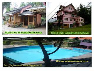 Vila Keluarga Besar Di Penginapan Villa Istana Bunga Lebih Murah