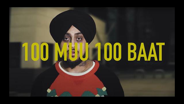 100 Muu 100 Baat Song Lyrics | PRE SK | Sikander Kahlon Lyrics Planet