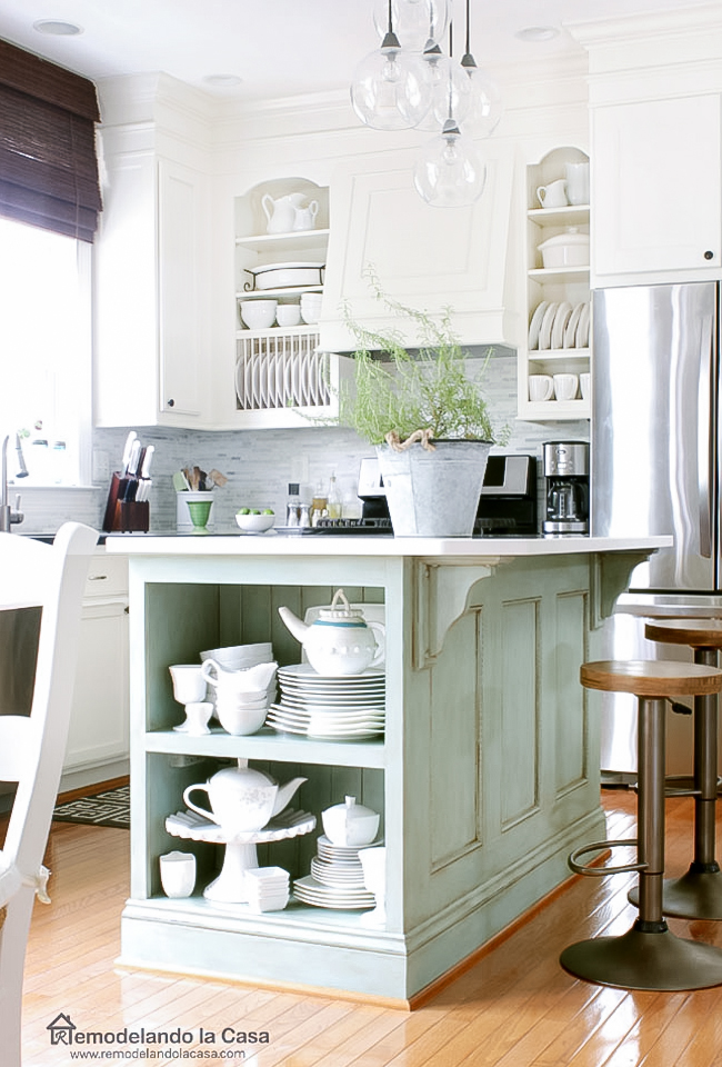 How to give your kitchen cabinets a custom look
