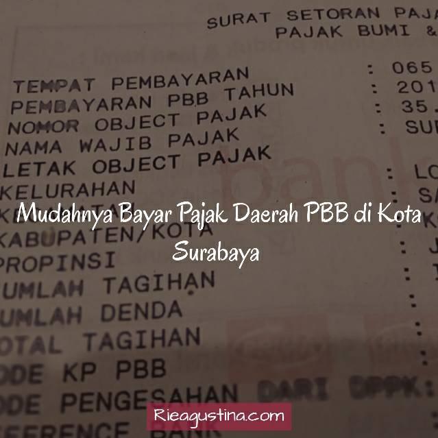 Mudahnya Bayar Pajak Daerah PBB di Kota Surabaya