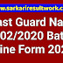 Coast Guard Navik DB 02/2020 Batch Online Form 2020
