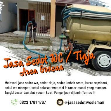 Sedot WC Godoean || Perbaikan Saluran Mampet area Godean
