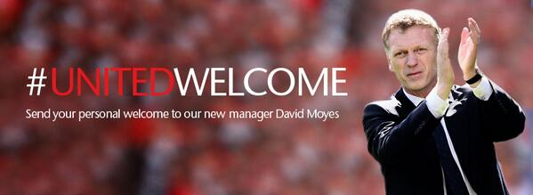 Manager Baru Manchester United David Moyes