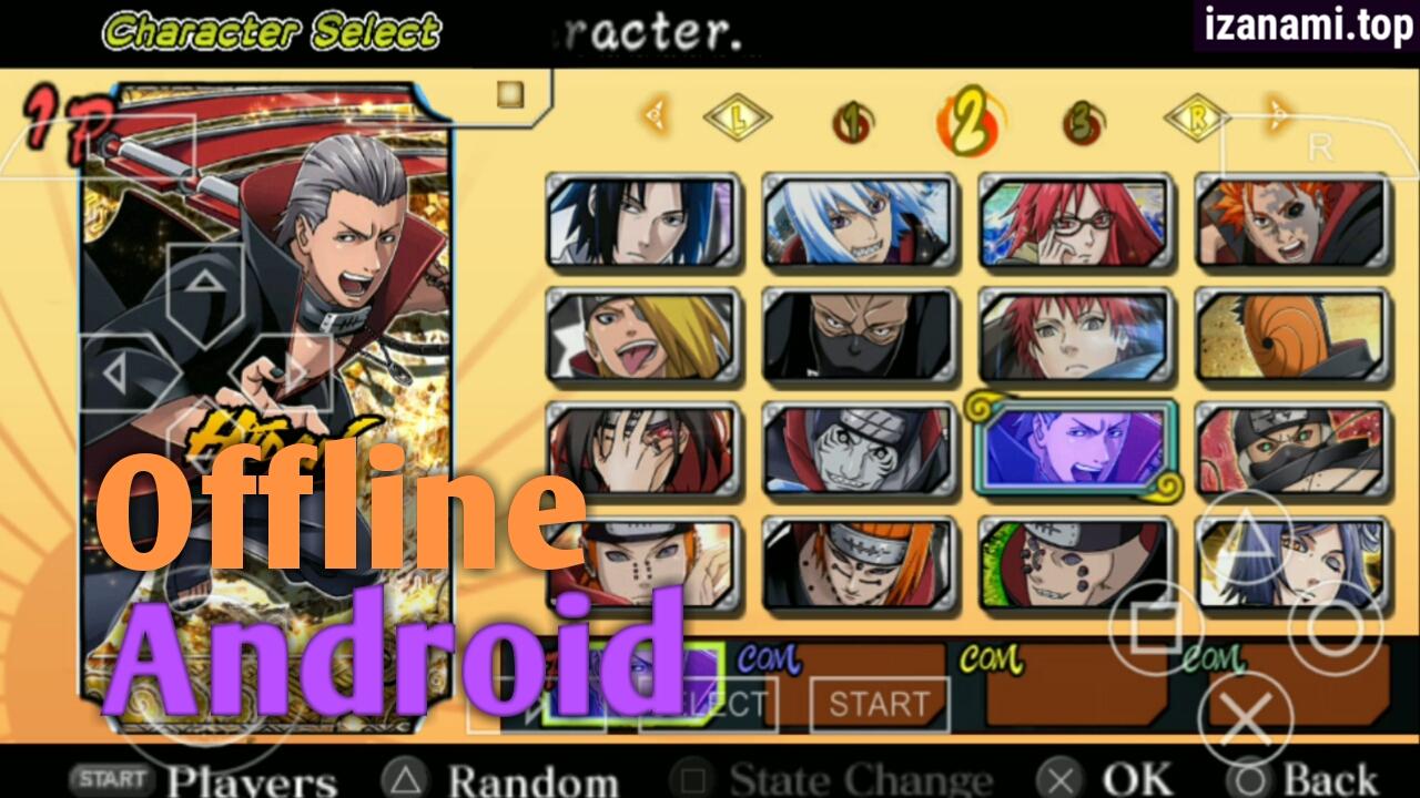 Game Anime Free Naruto Ultimate Ninja Heroes 3 Mod Ultimate Ninja 5 Ppsspp Android Gamehokage