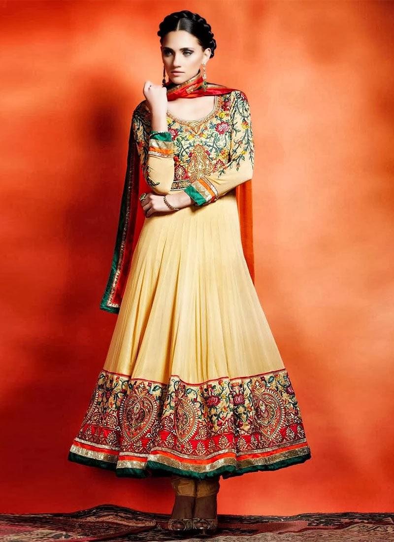 Latest Design Of Assam Type House: Bollywood Designer Latest Anarkali Salwar Suits