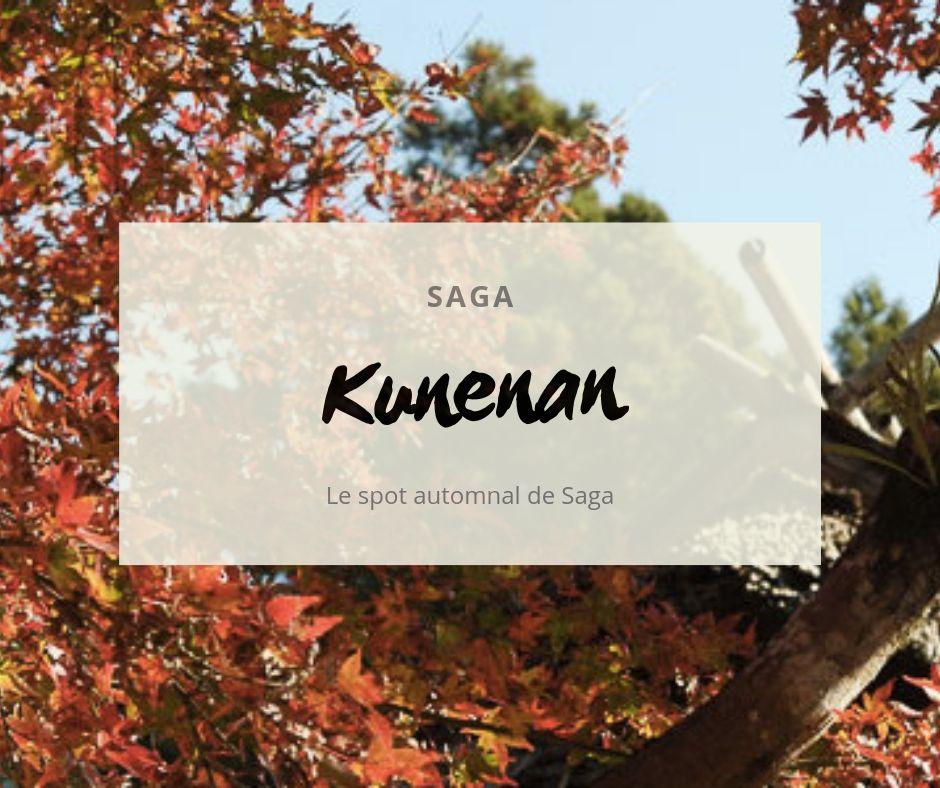 Kunenan, le spot automnal
