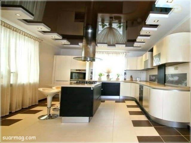 جبس بورد مطابخ 14   Kitchen Gypsum Designs 14