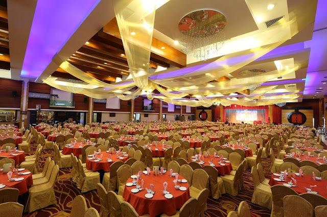 huge wedding banquet in kajang