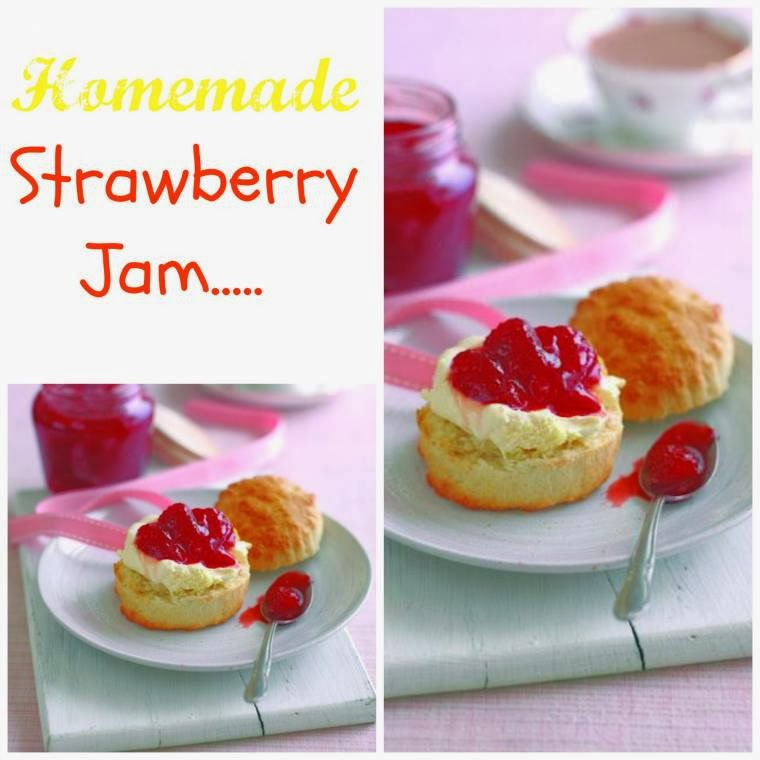 Recycled Jars, Homemade Jam and Jar Covers: