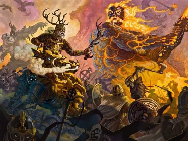 The Pre-Viking Legend of Ragnarok এর ইতিহাস পড়ুন বাংলাতে Norse_Mythology