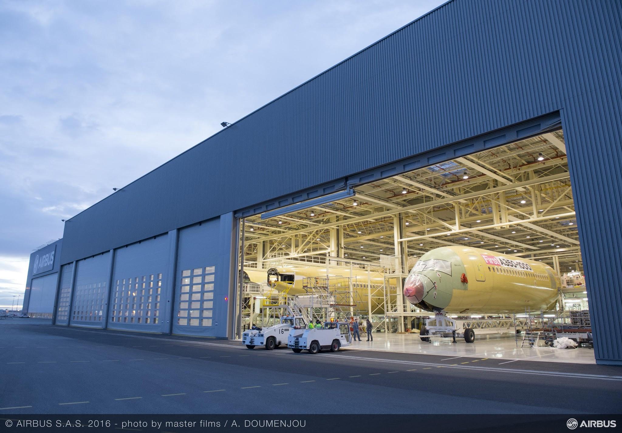 É MAIS QUE VOAR | Airbus A350-1000 entra na Linha de Montagem Final