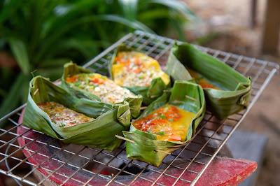 Khai Pam Mot Daeng ไข่ป่าม