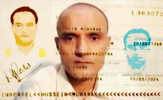 Kulbhushan's fake passport