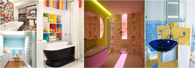 Colorful Bathrooms For Summer - 12 Absolutely Cheery Summer Paint Colors